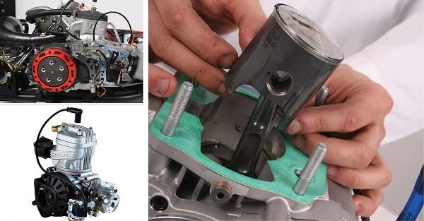 IAME Easy kart 125 Piston Pistone
