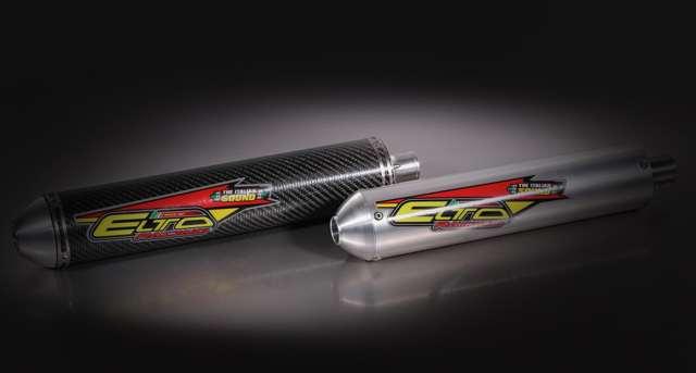 USA exhaust by Elto Racing, developed for the Honda CR-125