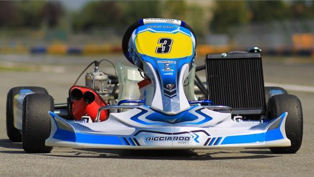 Christian Lundgaard è un nuovo pilota Ricciardo Kart