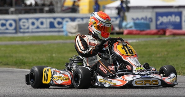 CRG IN SARNO FOR THE FINAL SPRINT  OF THE WSK SUPER MASTER SERIES