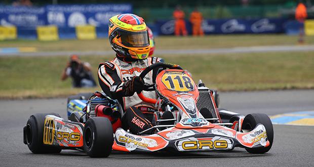 A Le Mans bella prestazione di CRG con Hauger in OK