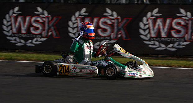 Tony Kart - Novalak winner in La Conca
