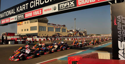 The winners of the 2011 Rotax MAX Challenge Grand Finals