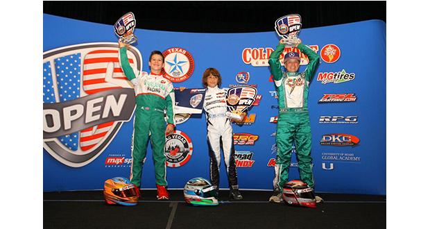 Another championship podium for Nicholas D'Orlando