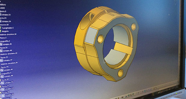Accessories for karts with software CAD - CAM & CNC
