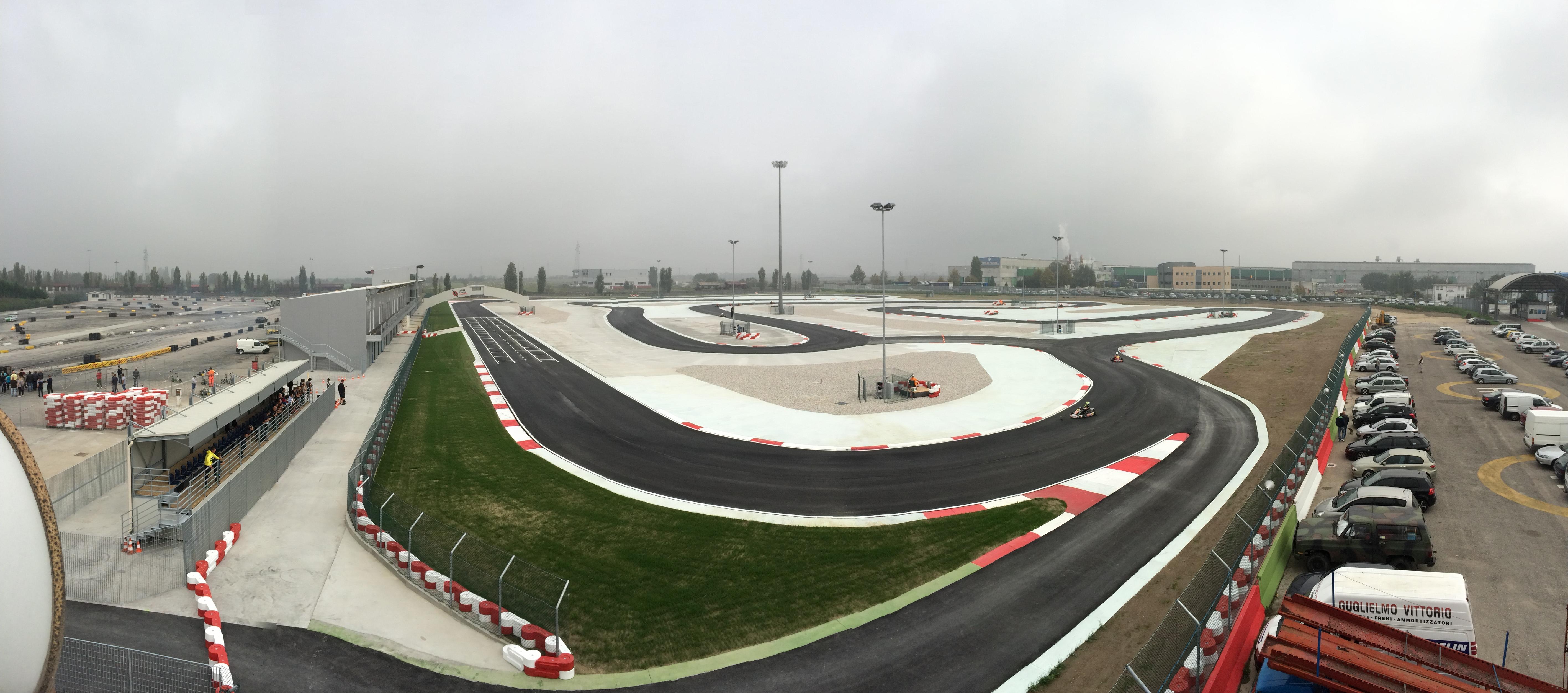 Circuito Adria : Adria karting raceway si gira sulla nuova pista internazionale