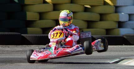 Alex Tagliani dalla Indy al kart, insieme a MIR