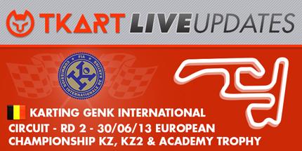 CIK-FIA KZ / KZ2 European Championship, Round 2 – Friday update 9:55 am