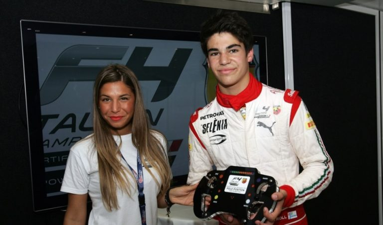 F4 Double Pole Position For Lance Stroll In Imola
