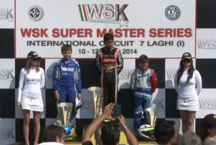 WSK SUPER MASTER SERIES: 2nd ROUND FINALE DELLA MINI, VINCE MUIZZ