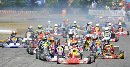 News and dates of the 2012 CSAI Karting Italian Championship and the CSAI Cup