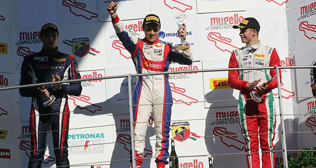 Italian F.4 Championship – round 4, la gara 3 va all'argentino Marcos Siebert
