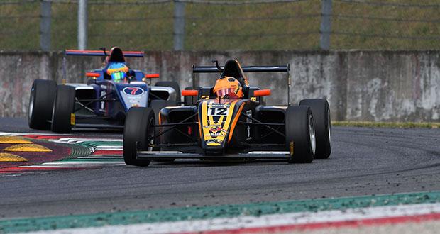 Italian F.4 Championship – round 4, il poleman Juan Correa vince Gara 1