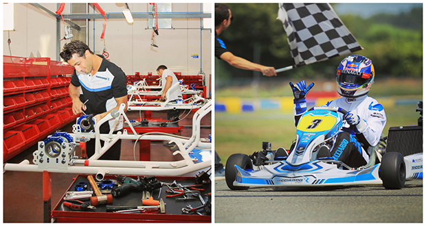 VIP test: Daniel Ricciardo