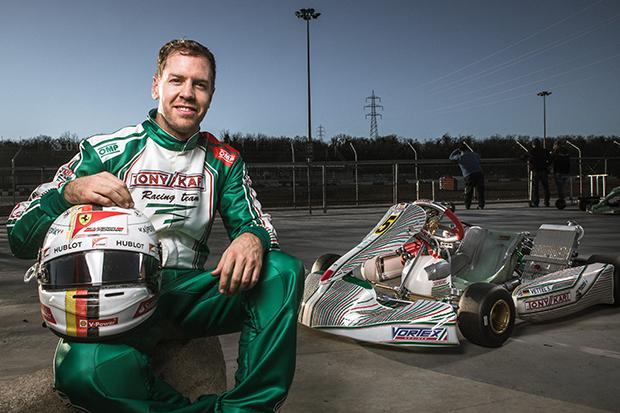 Vip Test Sebastian Vettel Eternal Kart Driver