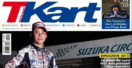 The December issue of TKart is now in news-stands