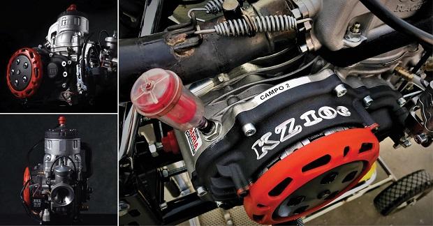 The new TM Racing KZ10C engine's analysis