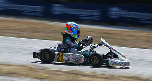 Tony Kart - Antonelli wins the 3rd round of the Italian ...