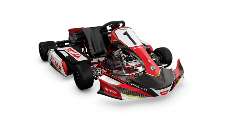 Race like never before  BRP-ROTAX launches its first e-kart powerpack: THE ROTAX THUNDeR!