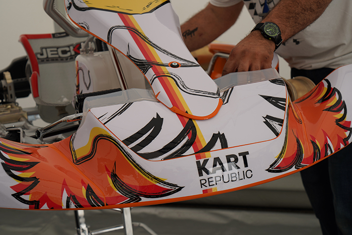 Exclusive: The Birth of Kart Republic, the New Kart Designed by Dino Chiesa