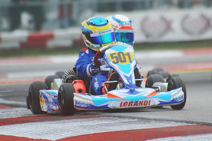 Rivincite all'Adria Karting Raceway (RO) alla 2. tappa della WSK Final Cup