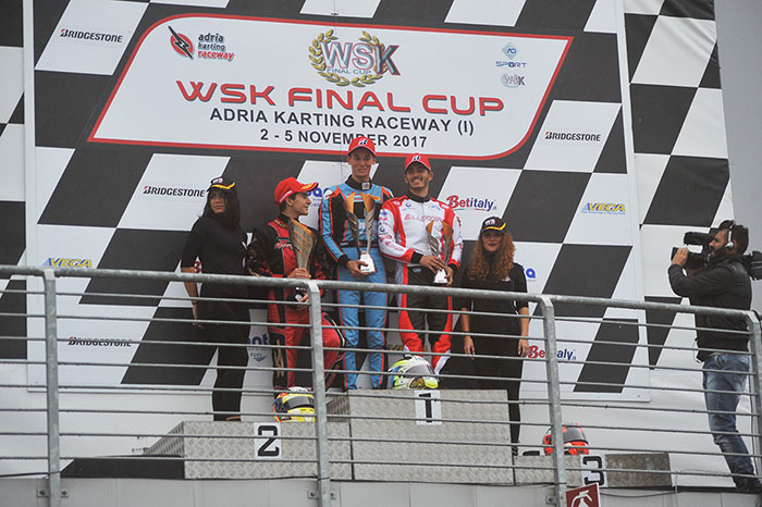 The results of the Finals at the 1st round of the WSK Final Cup at the Adria Karting Raceway (I)