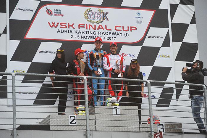 I risultati delle Finali alla prima tappa della WSK Final Cup all'Adria Karting Raceway (RO)