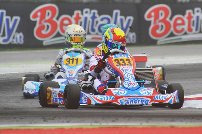 Unpredictable results at the Adria Karting Raceway (I) at the WSK Final Cup