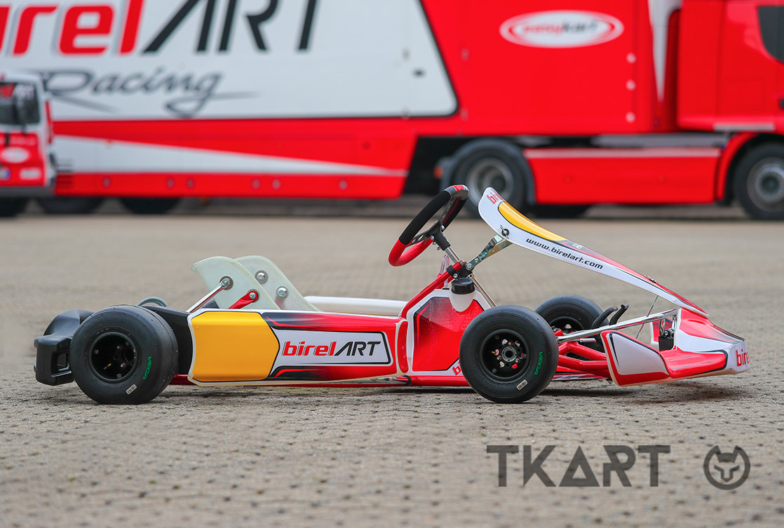 The Birel Art RY32 Frame Has Traditional Shapes. All Tubes Are 32 Mm In  Diameter.