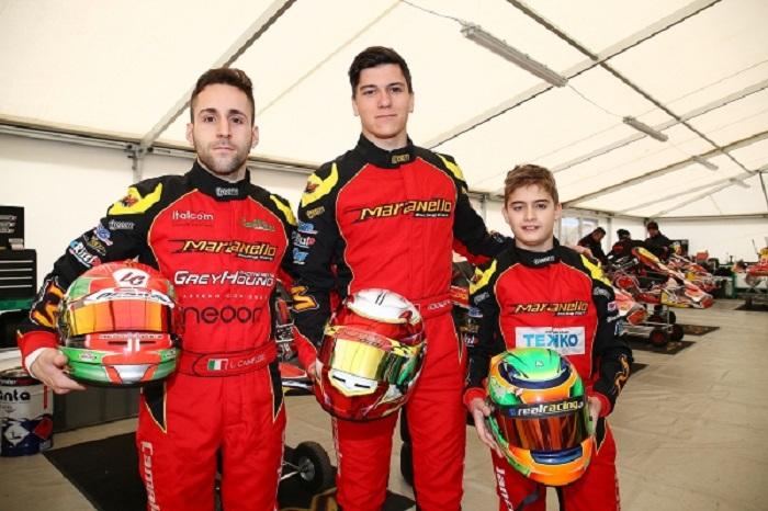 Maranello Kart el la Copa de Invierno en Lonato