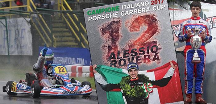Alessio Rovera, Champion of the Porsche Carrera Cup in Italy