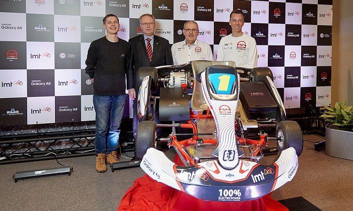 Il primo campionato mondiale di kart elettrico lanciato in Lettonia