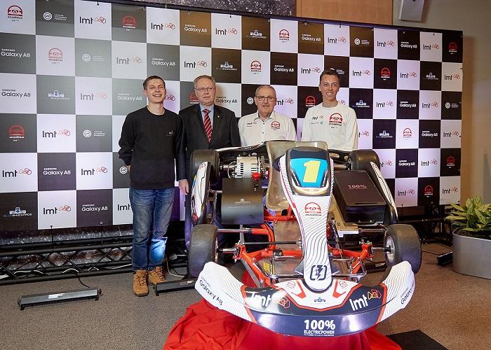 Se lanza el primer campeonato de Kart eléctrico en Letonia