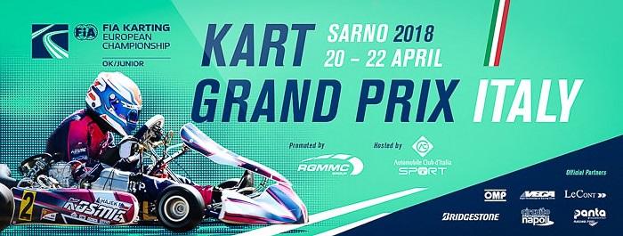 Ottimo inizio della stagione 2018 CIK-FIA a Sarno