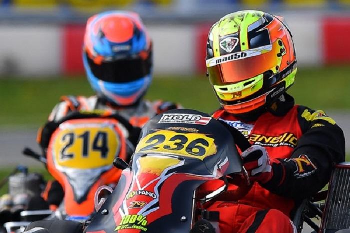 Rendimiento excepcional de Christoph Hold en Maranello Kart en KZ2 en el primer partido de DKM en Lonato