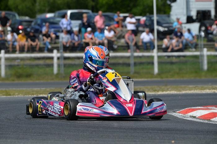 Patrik Hajek e Kosmic nella top ten del Campionato Europeo KZ e KZ2 a Salbris