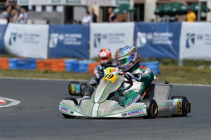 Marco Ardigò a podio nell'Europeo KZ e KZ2 in Francia