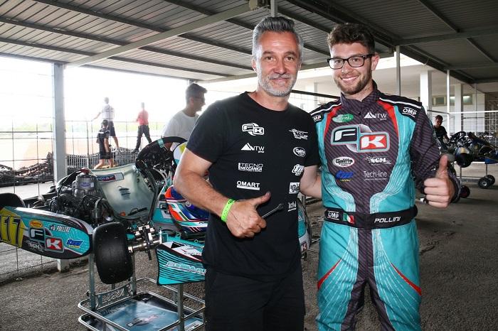 A Sarno disputate le prove cronometrate con 200 piloti nella terza prova del Campionato Italiano ACI Karting