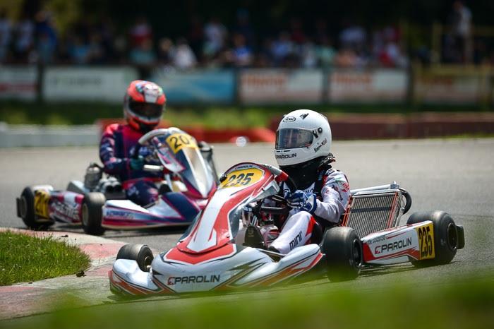 Parolin Racing Kart: bella doppietta nella 60 Mini a Lonato