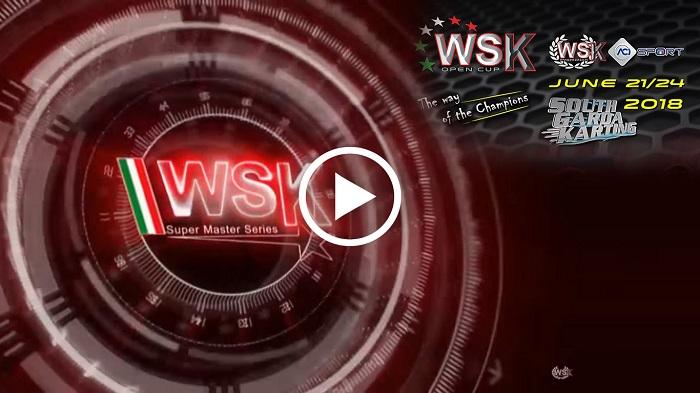 Riprese video della WSK Open Cup