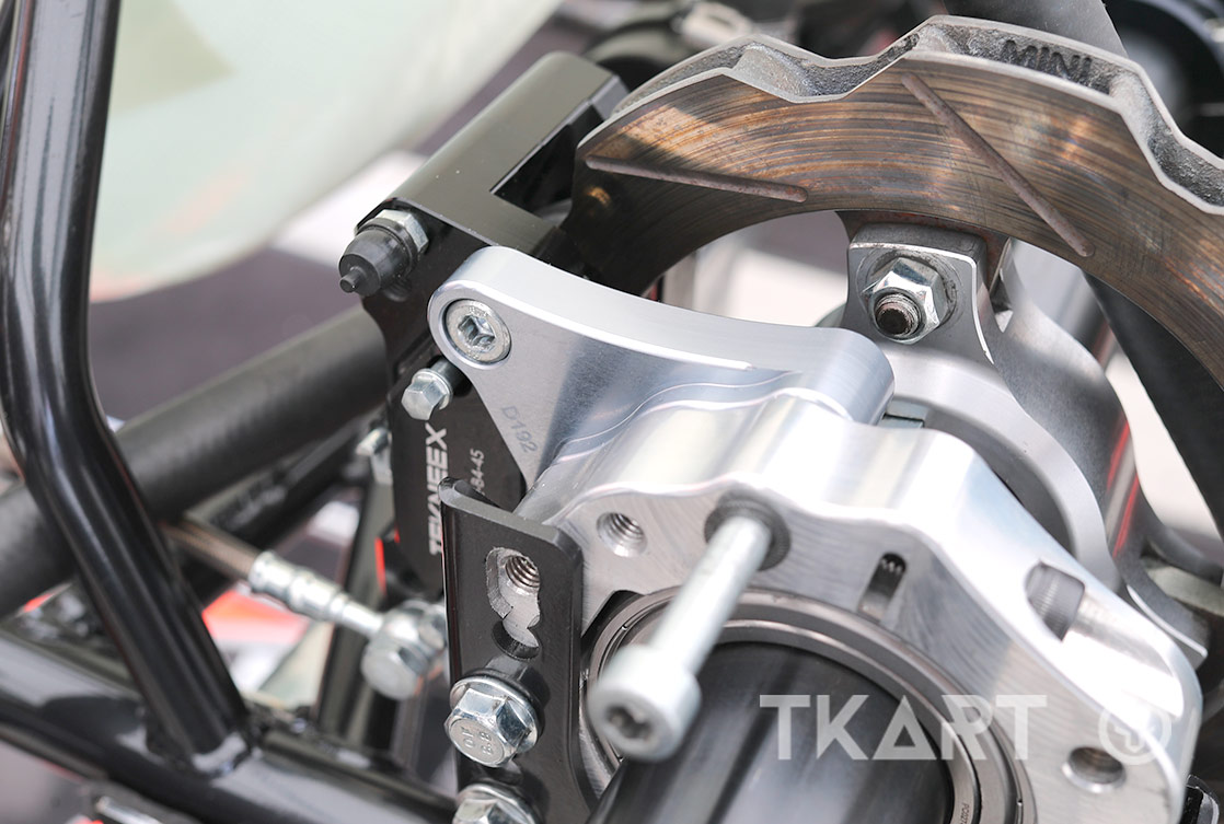 Tekneex F13, the new Sodikart braking system for KZ class karts