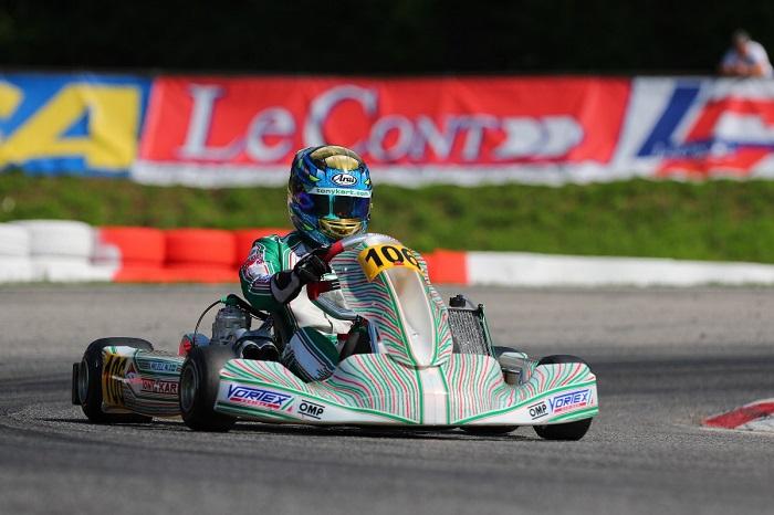 El Racing Team Towards hacia la etapa decisiva del Campeonato de Europa de Ok-okj en Francia