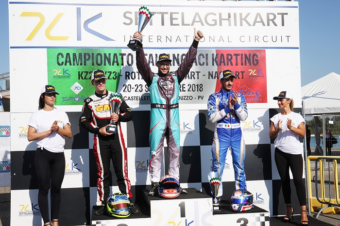 Concluso il Campionato Italiano ACI Karting che a Castelletto ha assegnato gli ultimi titoli in KZ2, KZ3 e Trofeo Rotax