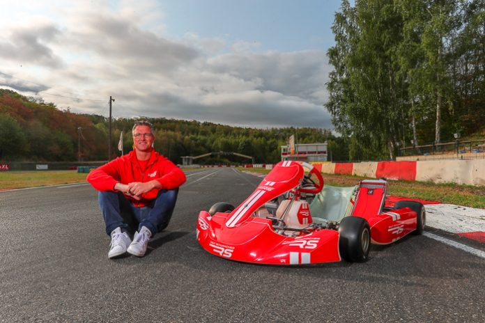 """Ralf Schumacher launches RS Kart because """"Karting will never"""