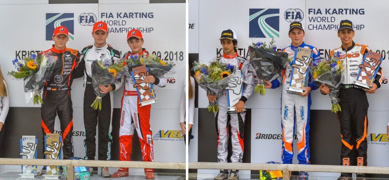 FIA Karting World Championship, Kristianstad: Travisanutto (OK) and Bernier (OKJ) are world champions