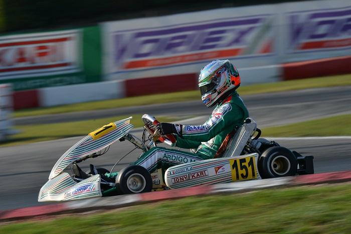 Tony Kart a podio in KZ2 e in OKJ nella prima tappa della WSK Final Cup a Lonato