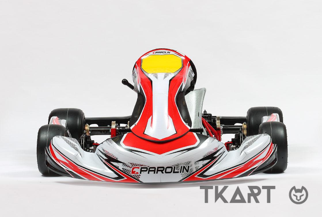 Dynamica, world champions Parolin Racing bodyworks for karts