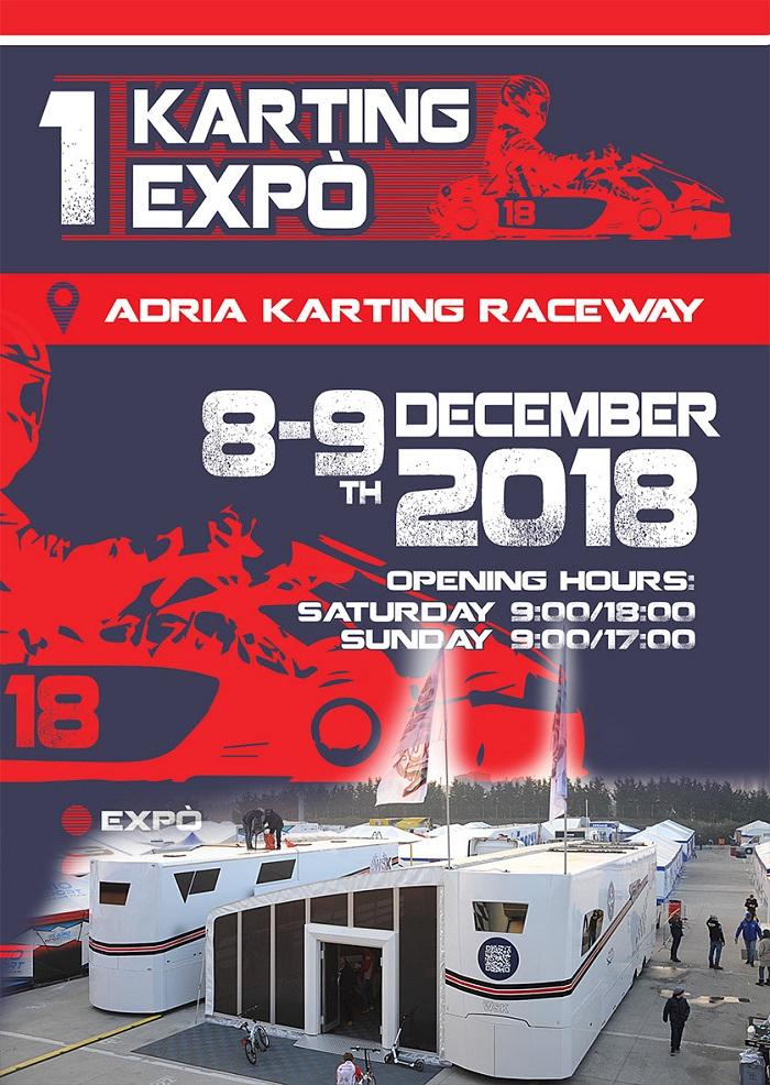 Promoción de WSK en el 1er Karting Expò en Adria (I)