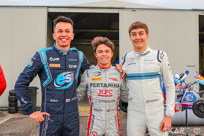 Albon, De Vries, Russell: all in karting to train and challenge once again