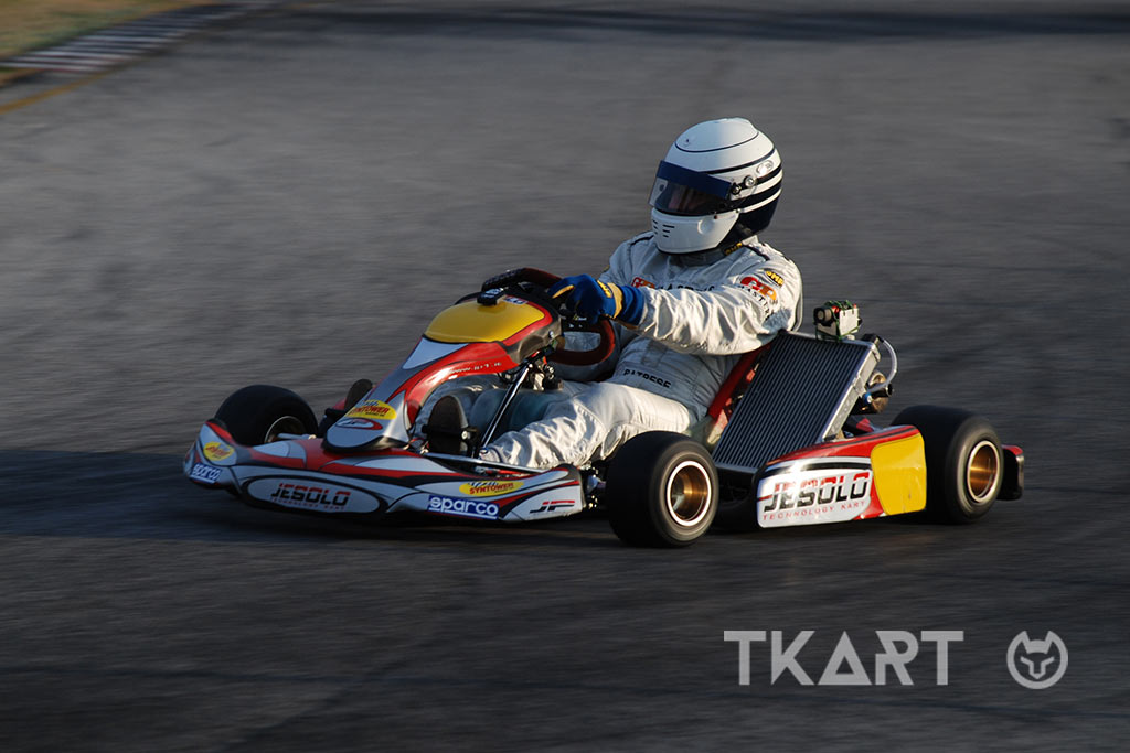 Riccardo Patrese in kart: the first love is never forgotten - TKART